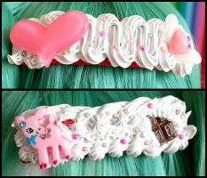 Sweet Decoden Hair Barrettes by HezaChan