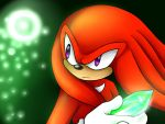 Knuckles the Echidna by sonicRULES02