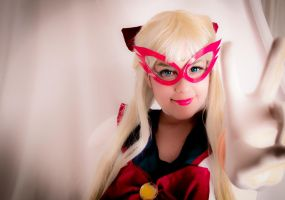 Code name wa Sailor V by Laia-pink