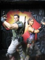 Resident Evil 5 Diorama 006 by ultimategallo