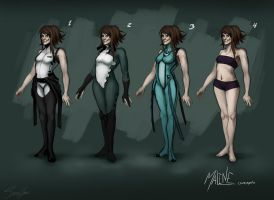 Maline concepts 1 by SecretsOfSorrow