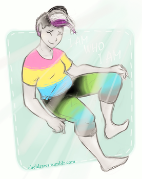 I AM WHO I AM | my pride flags by ChelberNo1