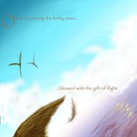 With the Gift of Flight by VesteNotus