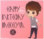 HAPPY BIRTHDAY BAEKHYUN!! by eli-star