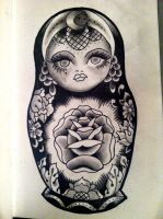 Russian Doll by xmorphenomenal
