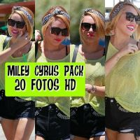 Miley Cyrus Pack by CantbeTamedSmiler