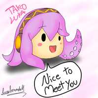 Tako Luka for First Time by DendouguiDragonPowah