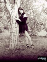 Me and walnut tree by ImperataLexinor