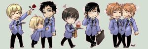 STK - Ouran Host Club by oneoftwo