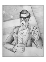 Colbert the Eagle by ScienceMonster