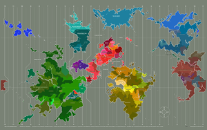 Map: Equestria and beyond. by darkdoomer