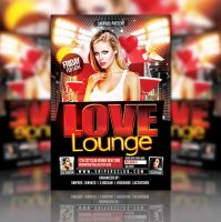 Love Lunge Flyer Party by evanssnipers
