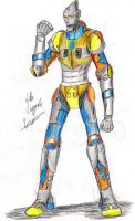 Jet Jaguar by hewhowalksdeath