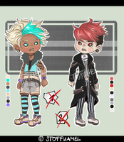 Punky Goth Adopts (CLOSED) by Stoffkamel