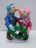 SnowCouple by cashewed-almonds