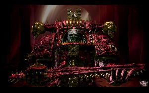 Chaos Marine 3D by psionic