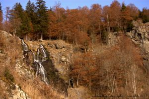 autumnal waterfall by somna-ARTifacts