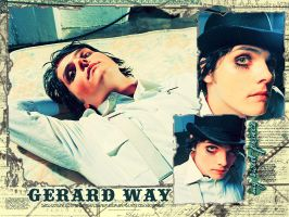 Gerard Way by cherry-fields