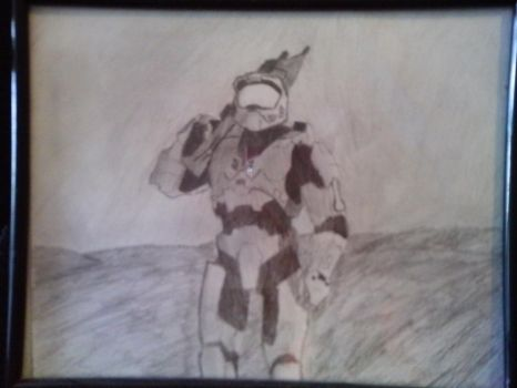 The Master Chief by IceDragon102