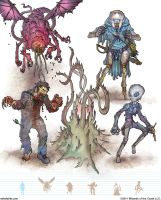 Gamma World Monsters 15 by MikeFaille
