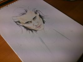 Loki (in the process of creating) by Galinaxsim