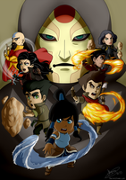The Legend of Korra - Book 1 by puricoXD