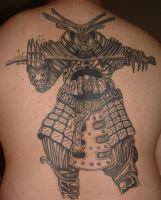 Protect My Back Ole Samurai... by ghostblade