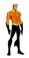 DC:New Earth Aquaman Animated by kyomusha