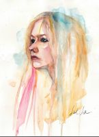 avril watercolor by fuelavriling