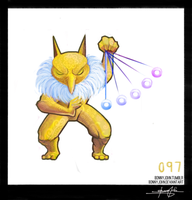 Hypno! Pokemon One a Day by BonnyJohn
