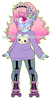 NiveousLamia Custom Adopt Commssion by rap1993