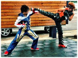 Tekken: Karate VS Taekwon Do by Heavy0