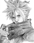 Cloud Strife by c00kie-l0ver