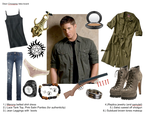 Dean Winchester Crossplay by quallian