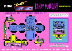 Doctor Who - Kandy Man Cubee by mikedaws