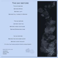 The day before by Buble