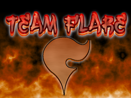 Team Flare Wallpaper by fakemon123