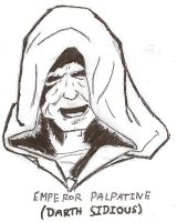 Emporer Palpatine by indy7738