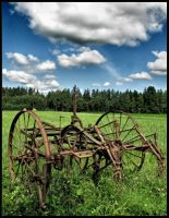 An old tedder by Yancis