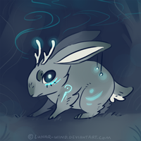jackalope by Lunar-Wind