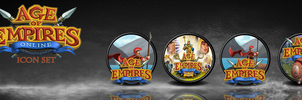 Age of Empires Online Orb Icon Set by Mmagoo