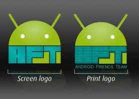 Android Friends Team's logo by peroline