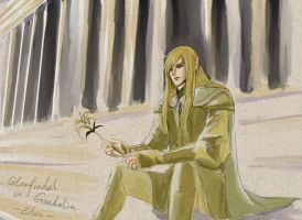 Glorfindel in Gondolin by eilian