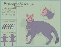 AW | Coldwater | Riverclan Warrior by Jerry-Berry