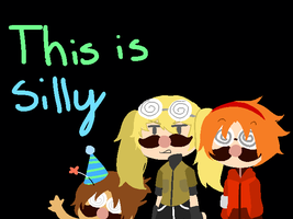This is silly -GIF by Gradient-Of-Gold