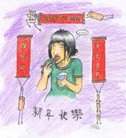 HAPPY CHINESE NEW YEAR- COLOR by fafafa