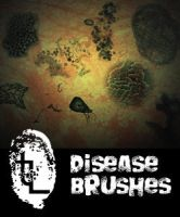 Disease Brushes by Bill-Cityfingers