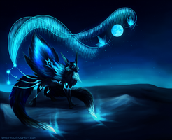 Night of the Blue Moon by Demeritas