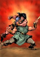 buscema colloring by judson8
