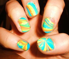 Another water marble ~Right hand by lettym